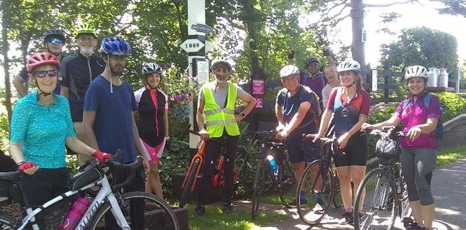 Spokes Cycling Group Photo